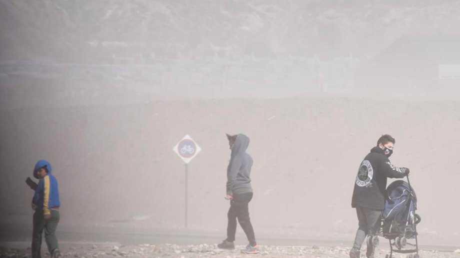 El viento se hará presente con fuerza en Neuquén y Río Negro. Foto: Archivo Florencia Salto