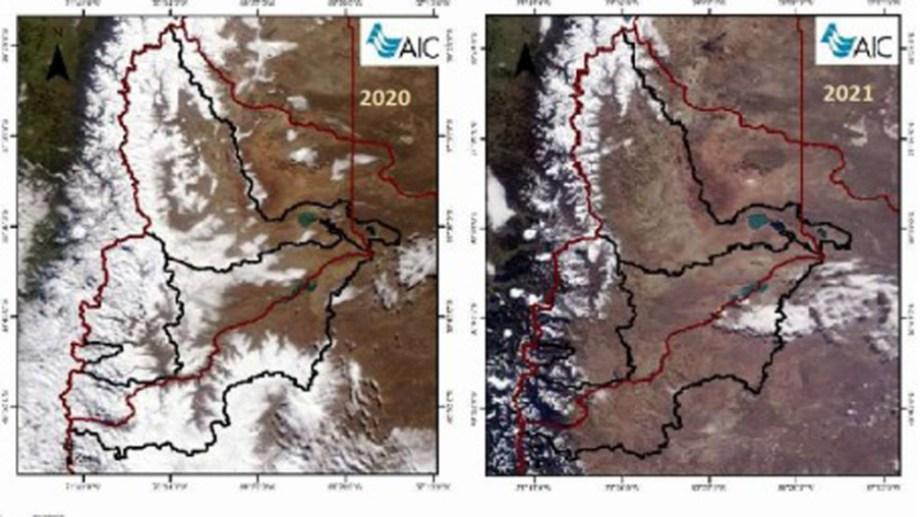 La misma época de 2020 y 2021 en una imagen de la AIC.