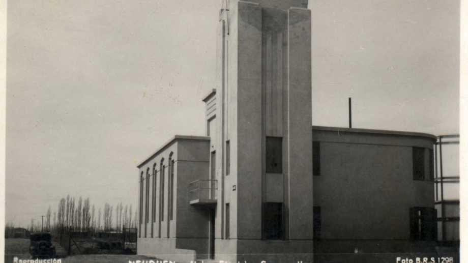 El edificio propio se construyó a través de un préstamo del Banco Nación. (FOTOS: museo Paraje Confluencia)