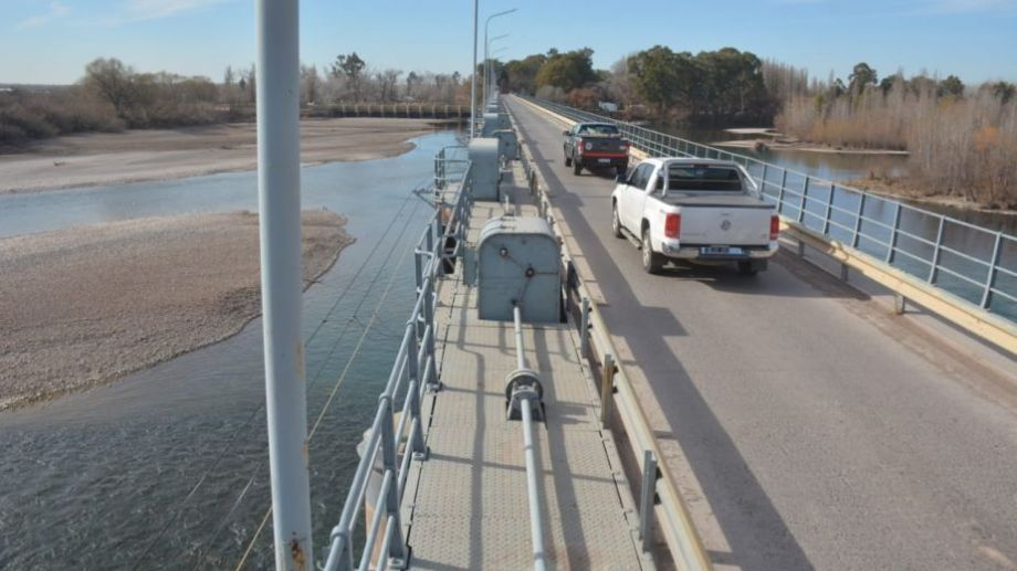 Por la sequía, los ríos de la zona muestran caudales mínimos. (Foto: César Izza)