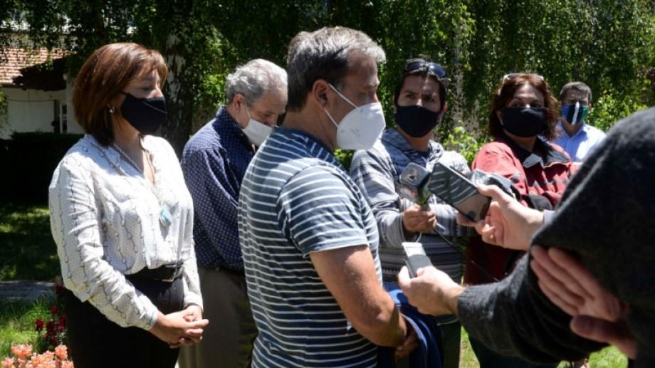 Encontraron a Diego Frutos con golpes en la cara. Foto: archivo