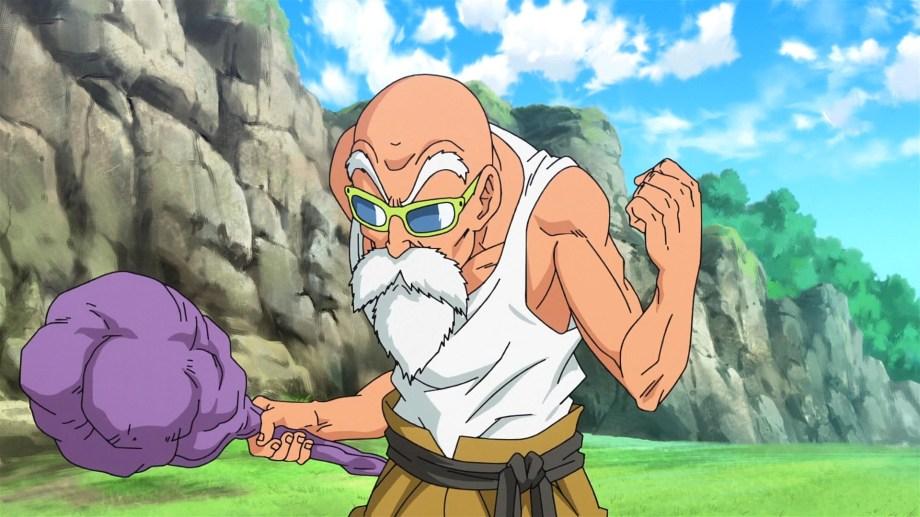 El Maestro Roshi es el personaje que protagoniza la polémica escena.