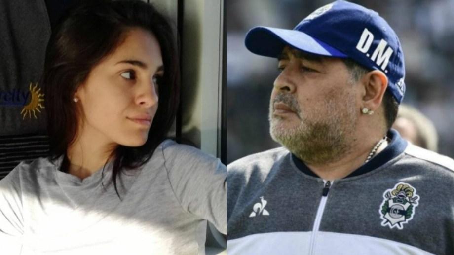 Magalí Gil, la joven que buscaba saber si es hija de Maradona, dio negativo en la prueba de ADN.