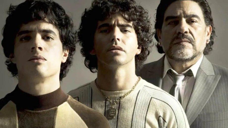 """""""Maradona: Sueño bendito"""" se estrenará antes de fin de año. No cuenta con el visto bueno de la familia."""
