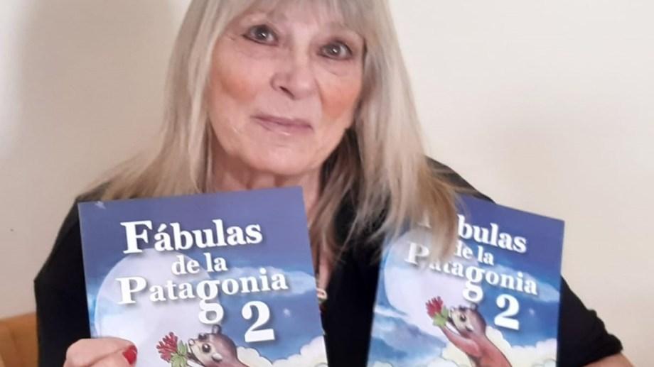 Liliana Odano presenta su sexto libro. Foto: gentileza