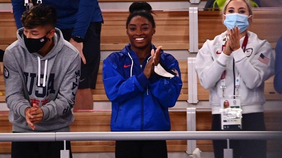 Simone Biles vuelve para el gran cierre de la gimnasia en los Juegos Olímpicos de Tokio 2020.