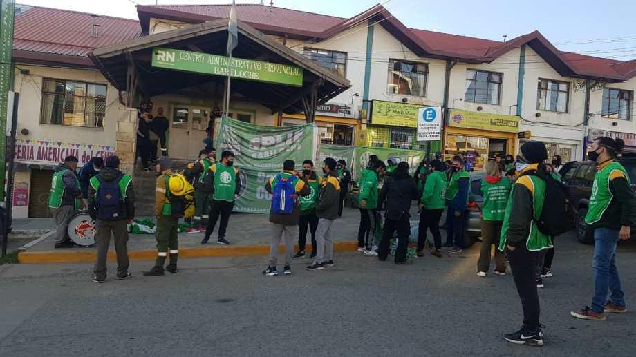 Hubo numerosas protestas antes de llegar a un acuerdo con el gobierno provincial. Foto: archivo