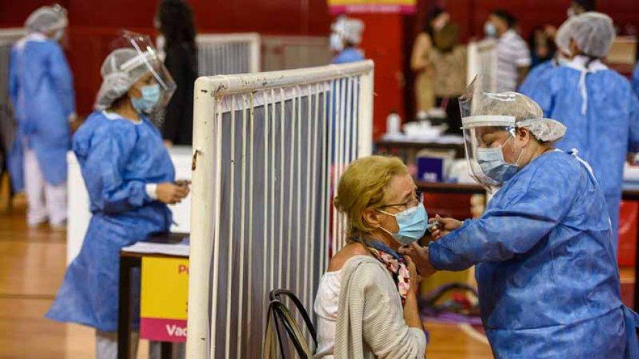 La campaña de vacunación sigue adelante en Buenos Aires capital.