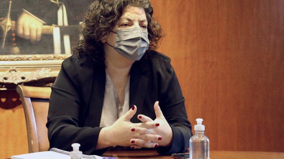Carla Vizzotti, ministra de Salud.