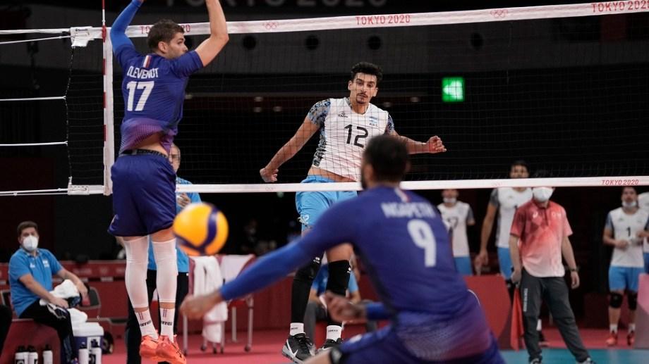 Bruno Lima es el goleador del torneo pero Argentina no pudo con Francia en semifinales. Foto: AP.