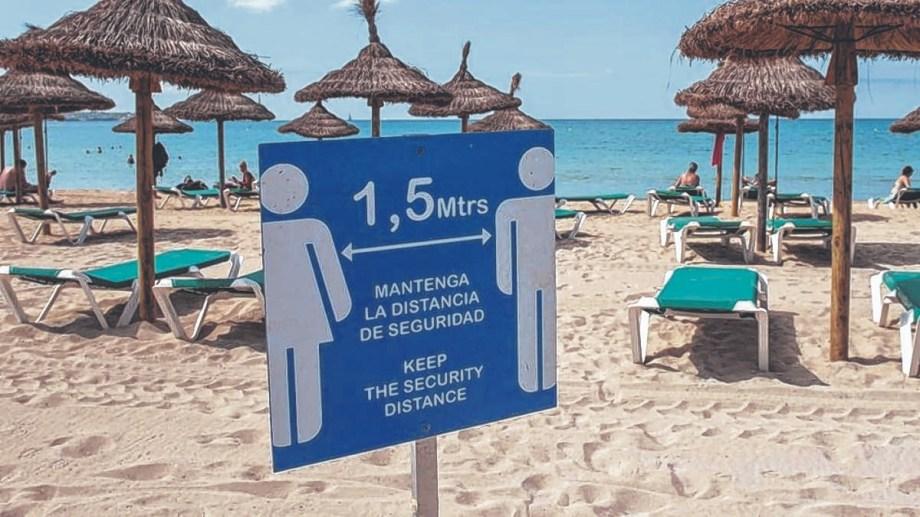 La pandemia por coronavirus puso en jaque la actividad turística en el mundo.