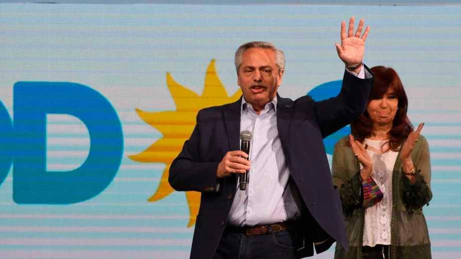 """""""He oído a mi pueblo. La altisonancia y la prepotencia no anidan en mi"""", expresó Alberto Fernández."""