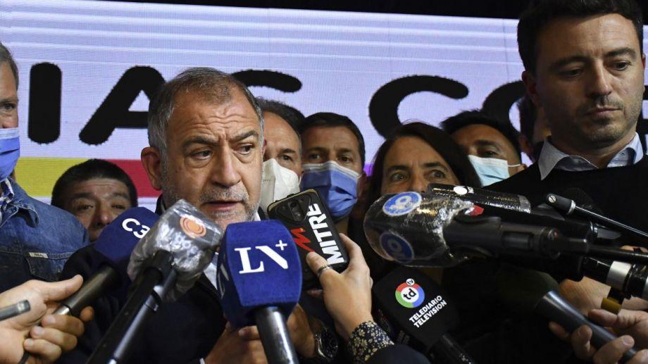 Luis Juez obtuvo el 57,46% de los votos en la interna de Juntos por el Cambio. (Foto: Telam)
