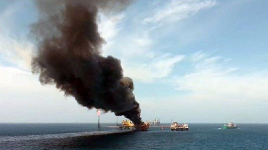 La explosión de una plataforma de la petrolera el mes pasado dejó fuera de línea una cuarta parte de su producción. (Foto: gentileza)