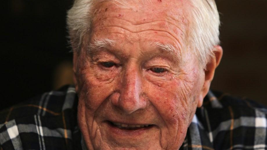 En un siglo de vida dedicó su tiempo y su fuerza a tareas solidarias en el Club de Leones. Fotos Juan Thomes.