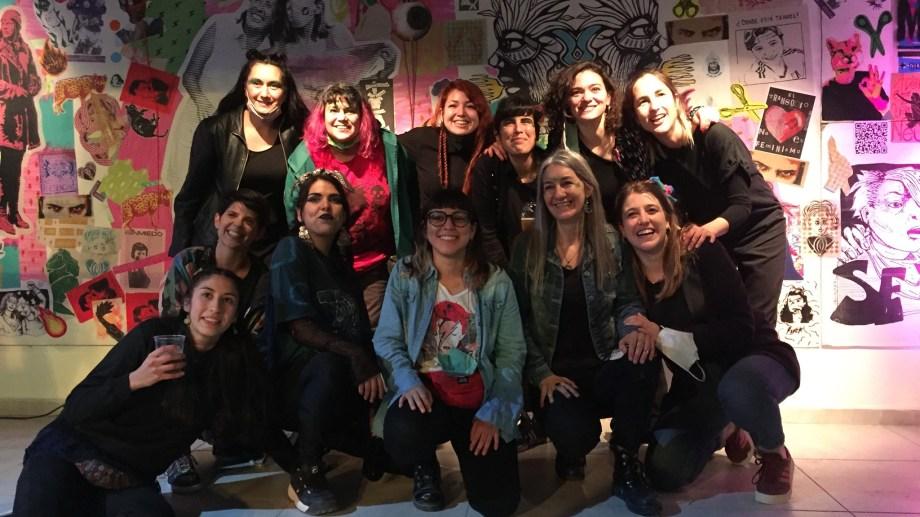 Grupo ¡Que Arda! expone en Galería de Arte de Casa de la Cultura. Foto gentileza