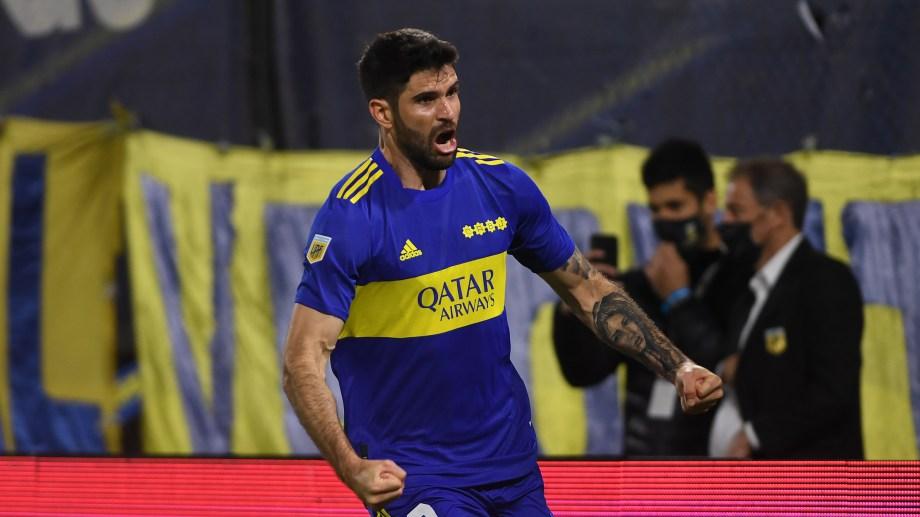 Orsini le dio la victoria a Boca ante Colón. Fue el primer gol del delantero con la camiseta xeneize.