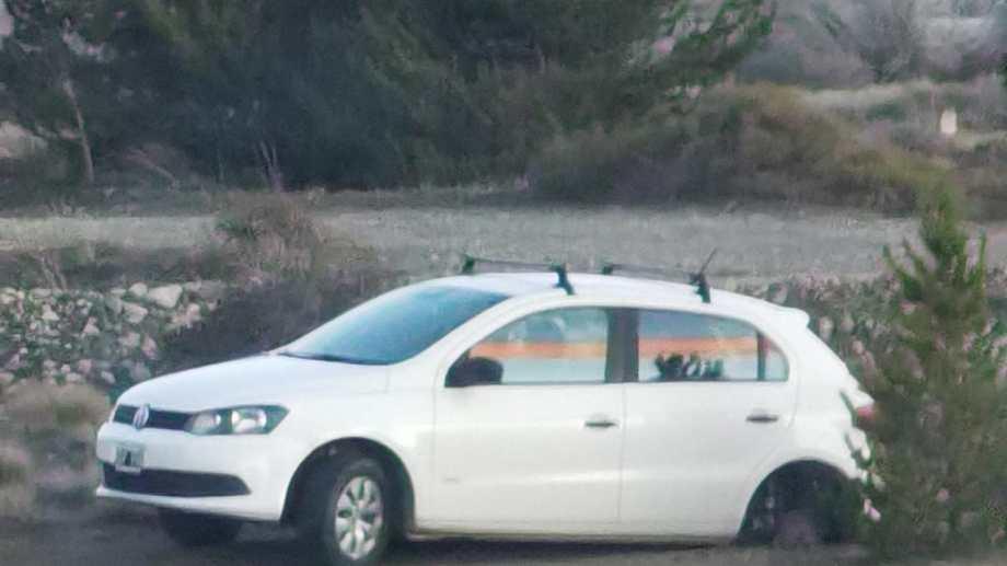 Los autos estaban estacionados en el aeropuerto de Bariloche. Foto: gentileza
