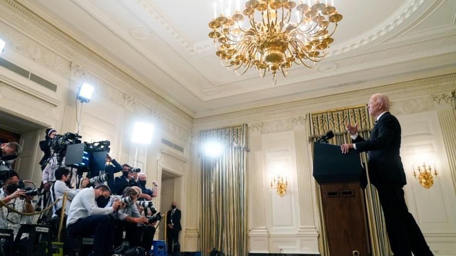 El presidente Biden habló en contra de la nueva ley de Texas.