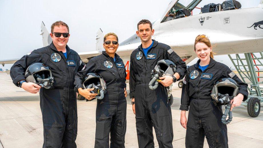 Los cuatro tripulantes regresarán hoy a la Tierra. (Foto: AP)