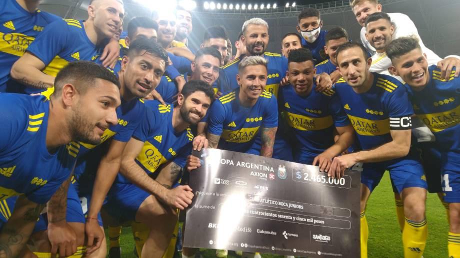 Boca ganó por penales y está entre los 4 mejores de la copa.