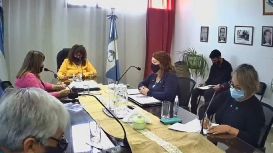 Hoy hubo sesión en el Concejo Deliberante de Plaza Huincul
