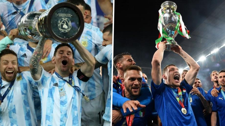 Confirmado: Argentina e Italia jugarán la Copa Euroamericana.