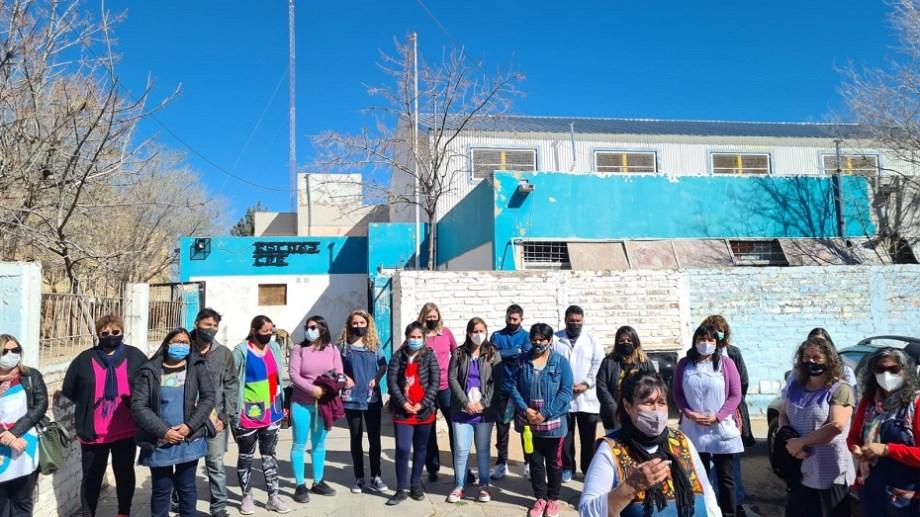 Cutral Co, escuela N° 63 en el barrio Belgrano (Foto: Andrea Vazquez)