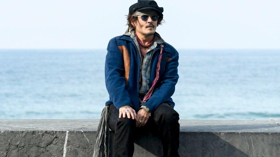 Depp recibió un premio a la trayectoria en el festival español.