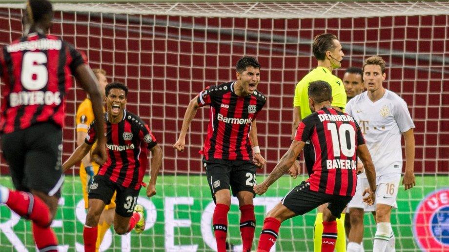 El ex River metió su primer gol en el club alemán.