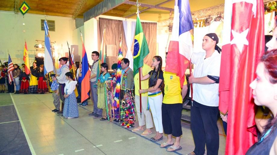 El sábado y domingo en se realizará una nueva edición de la Fiesta del Inmigrante. (Foto Néstor Salas)