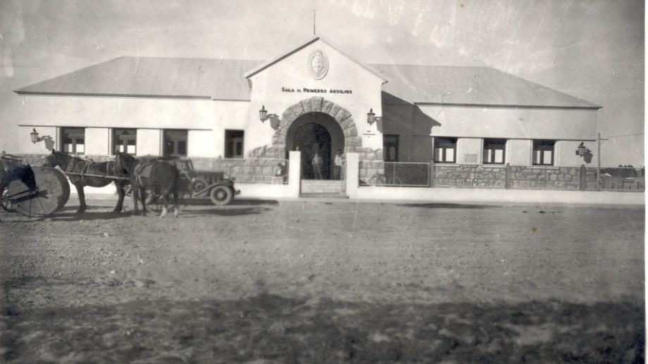 Salita de primeros auxilios, 1937. (FOTO: Gentileza Archivo Histórico Municipal)