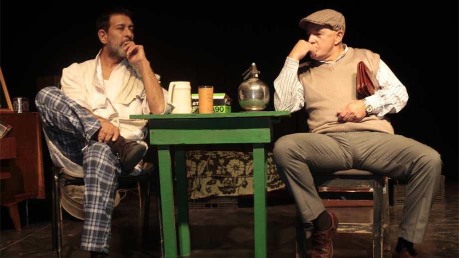 """Mariano Arce y Jorge Irazábal protagonizan """"La balsa de J""""."""