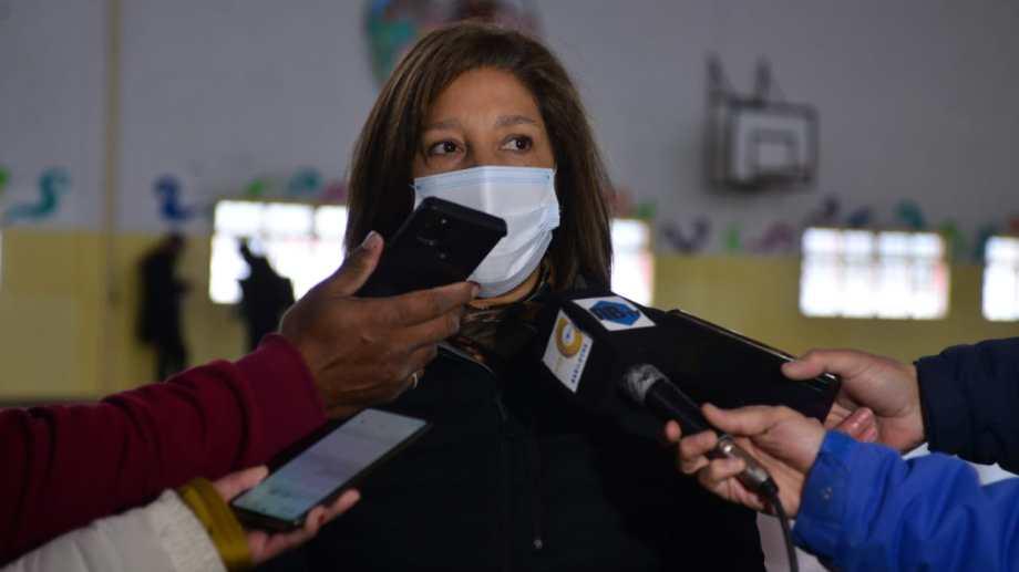 """La gobernadora Arabela Carreras defendió los proyectos """"verdes"""" que impulsó el mes pasado. Archivo"""