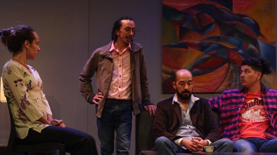 Tres parejas citadas para una sesión de terapia muy particular. Fotos: FCP
