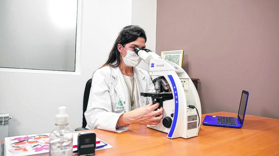 Julieta Pasquali coordina el Banco de Sangre en la Fundación Intecnus. Foto: gentileza