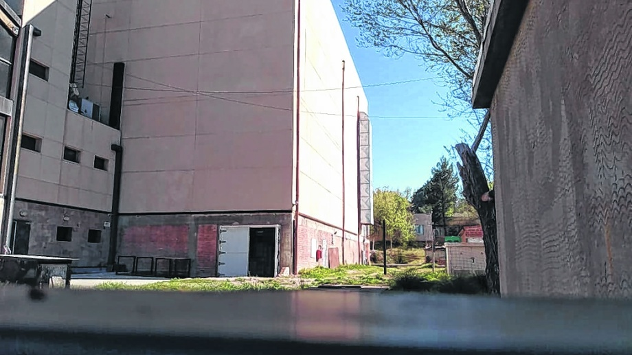 La imponente construcción está en pleno centro y sumaría un espacio de alta calidad a la ciudad.