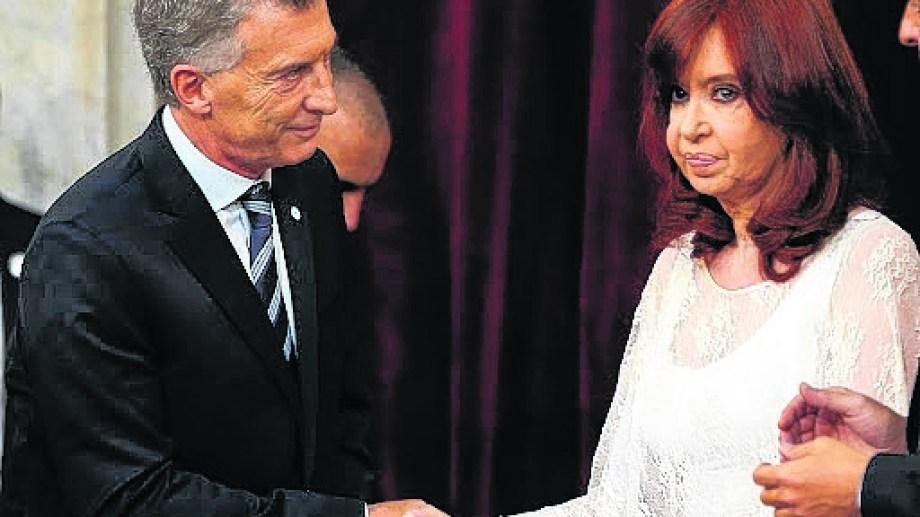 El expresidente Mauricio Macri en Miami renovó sus críticas a la vicepresidenta Cristina Fernández.