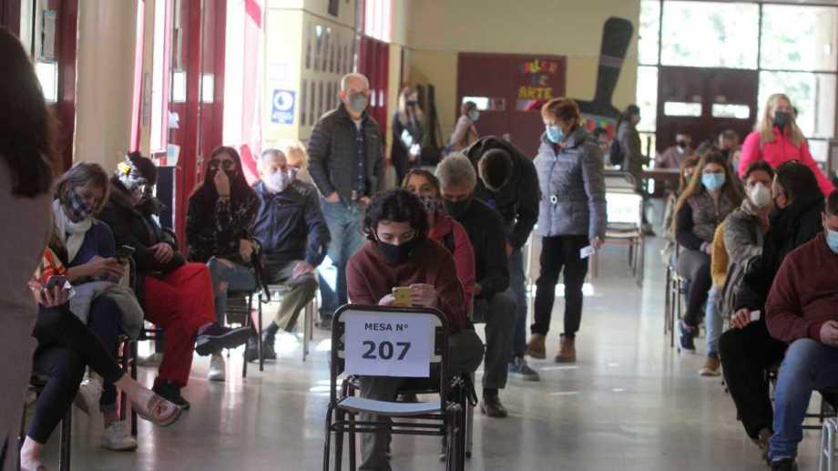 En las PASO votó cerca de un 76% del padrón, el segundo porcentaje más alto del país. Foto: Oscar Livera.