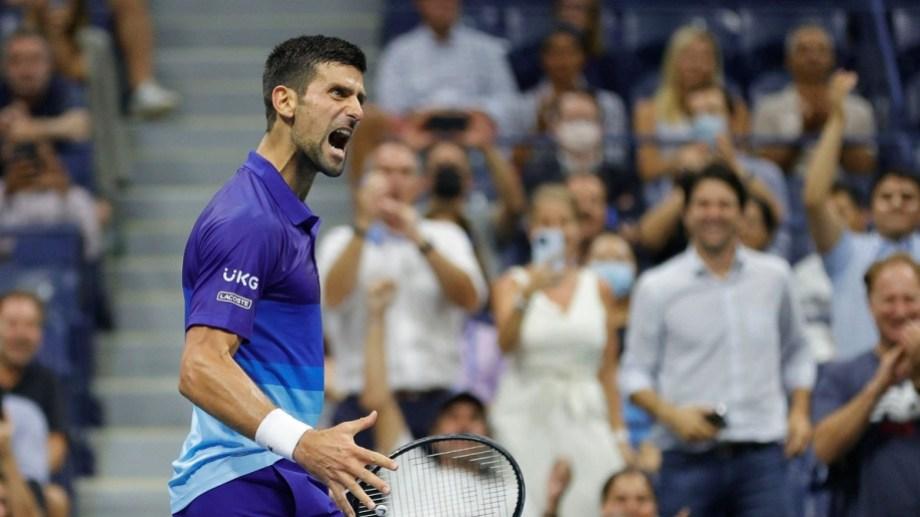 Imparable. Djokovic va por su cuarto Grand Slam del año.   Foto: gentileza