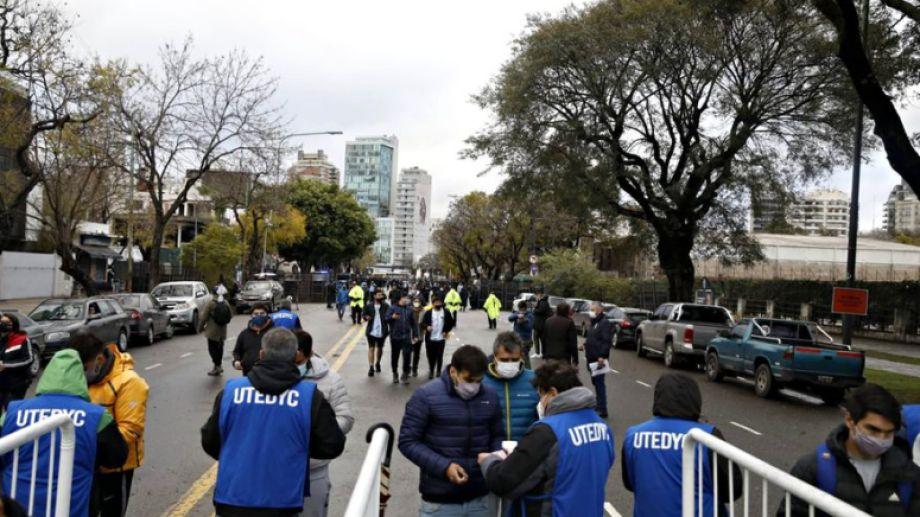 El ministro de Turismo y Deportes confirmó que el aforo será del 50%. Foto: Archivo La Nación