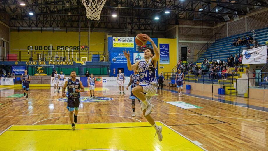 Marco Roumec es el goleador de Del Progreso en lo que va del torneo. (Foto: Juan Thomes)