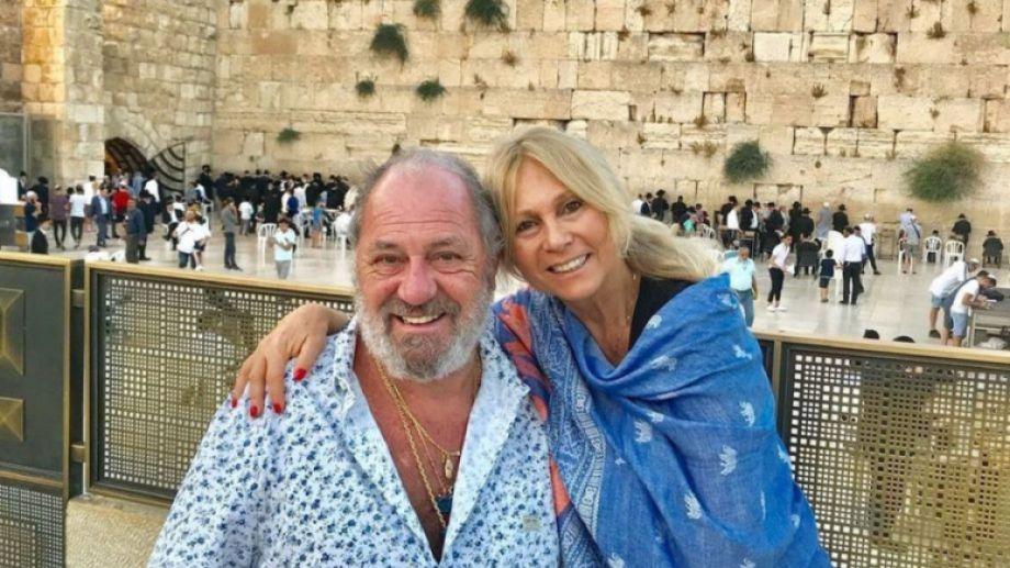 Ana y su pareja están juntos hace 36 años. Fueron a Miami a visitar a una de sus hijas.-