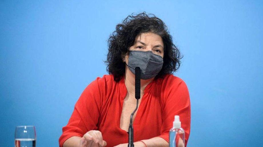 Carla Vizzotti, ministra de Salud de la Nación, realizó el anuncio tras la reunión con sus pares de las provincias.