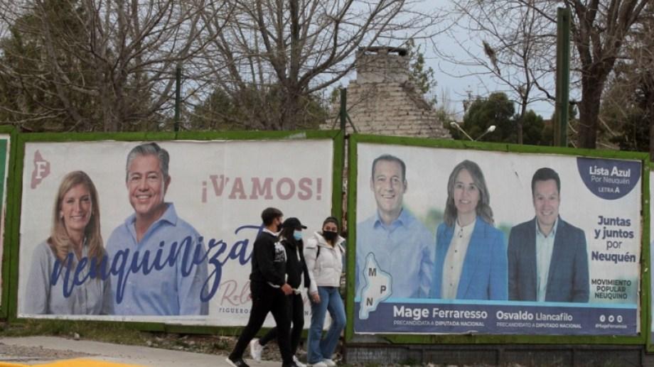 La fórmula que ganó el gobierno en 2015 ahora en sectores opuestos del partido. Foto: Oscar Livera.