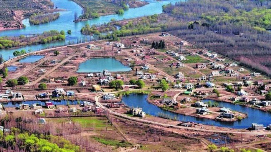 La Zagala, sector de urbanizaciones cerradas en Valentina sur Rural de Neuquén (gentileza)