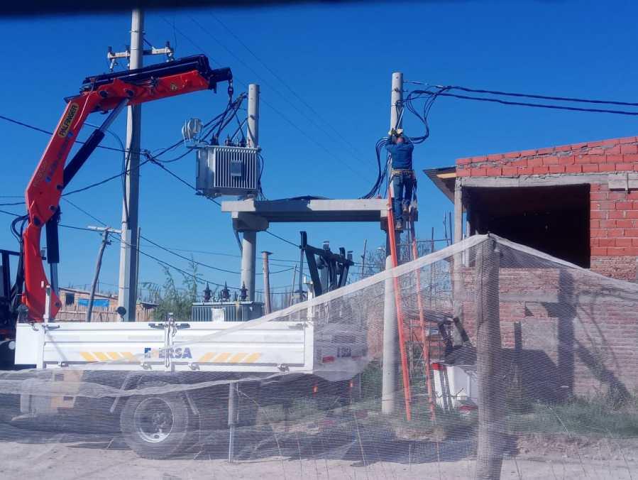 Chacra Monte-Reinstalación transformadores