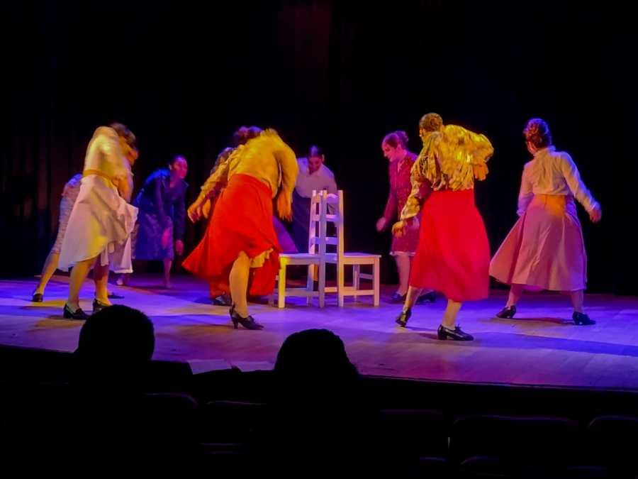 Puquy- danzas folclóricas- se presentó en Roca - Fotos Daniel Quilodrán