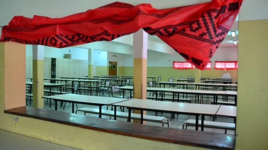 Se espera la vuelta de los comedores escolares para el lunes 18 de octubre,. Foto: Marcelo Ochoa.