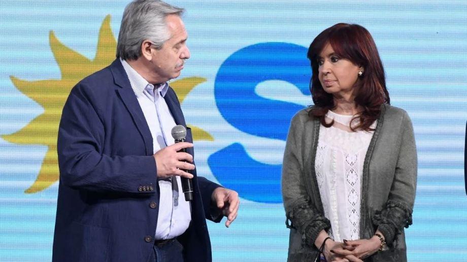 Alberto y Cristina se reunieron a solas en la Quinta de Olivos y bajo un fuerte hermetismo.